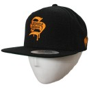 Stevie Stone - Black Gold S Snapback Hat