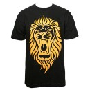 Stevie Stone - Black Lion T-Shirt - Extra Large