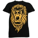 Stevie Stone - Black AU/NZ Lion T-Shirt - Small