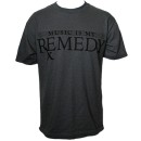 Stevie Stone - Charcoal Remedy T-Shirt - Medium