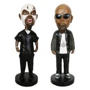 Tech N9ne -  Set of 2 Bobbleheads