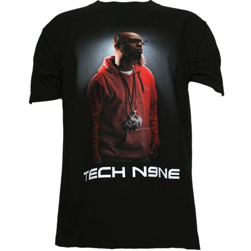 Tech N9ne - Black Pose #2 Full Color T-Shirt