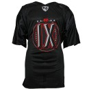 Tech N9ne - Black IX Football Jersey - 3-XL