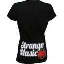 Tech N9ne - Black Scripty Ladies V-Neck T-Shirt