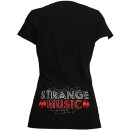 Tech N9ne - Black Tecca Nina Ladies V-Neck T-Shirt