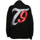 Tech N9ne - Black T9 Ladies Zip Hoodie