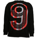 Tech N9ne - Black 9 Long Sleeve T-Shirt - Medium
