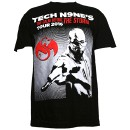 Tech N9ne - Black Calm Before The Storm Tour T-Shirt - 2-XL