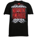 Tech N9ne - Black Independent Powerhouse Tour 2016 T-Shirt - Extra Large