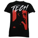 Tech N9ne - Black AU/NZ Flight T-Shirt - Large