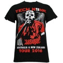 Tech N9ne - Black AU/NZ Tour 2016 T-Shirt - Medium