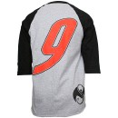 Tech N9ne - Gray / Black Speedy Raglan T-Shirt