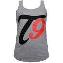 Tech N9ne - Heather Gray T9 Racerback Tank Top - Ladies Medium
