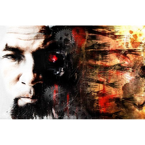 Tech N9ne Tech-Nological Pain Poster by Rob Prior