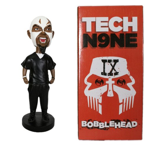 Tech N9ne - Red Box Facepaint Bobblehead