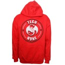Tech N9ne - Red Arched Hoodie - Extra Large