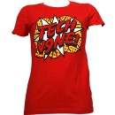 Tech N9ne - Red Pop Art Ladies T-Shirt - Ladies Large