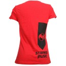 Tech N9ne - Red Worldly Angel Ladies T-Shirt