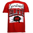 Tech N9ne - Red Lyrically Elite T-Shirt - Medium
