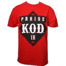 Tech N9ne - Red Praise K.O.D. T-Shirt - 2-XL