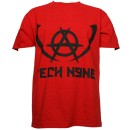 Tech N9ne - Red Worldly Angel T-Shirt - Medium