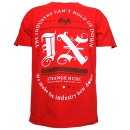 Tech N9ne - Red IX Racetrack T-Shirt - Medium