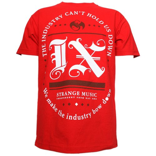 Tech N9ne - Red IX Racetrack T-Shirt