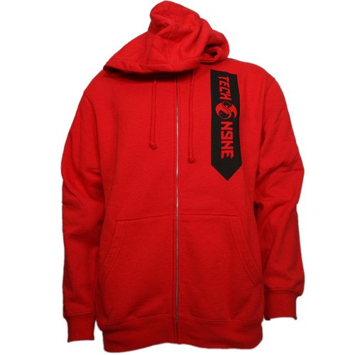 Tech N9ne - Red Worldly Angel  Zip Hoodie