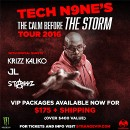 Tech N9ne's The Calm Before The Storm Tour 2016