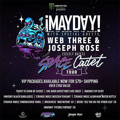 ¡Mayday! Space Cadet Tour