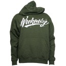 Wrekonize - Military Green Logo Hoodie - Medium