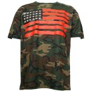 Krizz Kaliko - Camo Spider Flag T-Shirt - Large