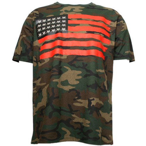Krizz Kaliko - Camo Spider Flag T-Shirt