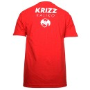 Krizz Kaliko - Red w/White Spider K T-Shirt