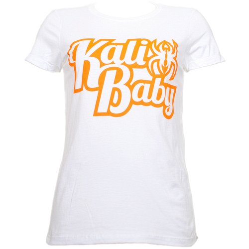 Krizz Kaliko - White Kali Baby Ladies T-Shirt