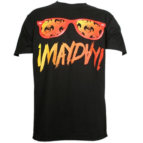 ¡MAYDAY!  - Black Shades T-Shirt