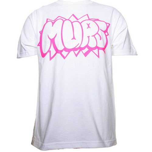 Murs - White Sketch T-Shirt
