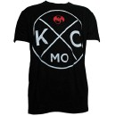 Strange Music - Black KC Cross Luxury Blend T-Shirt - 2-XL