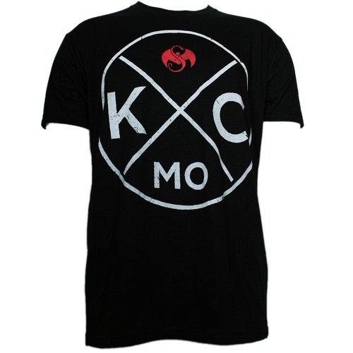 Strange Music - Black KC Cross Luxury Blend T-Shirt