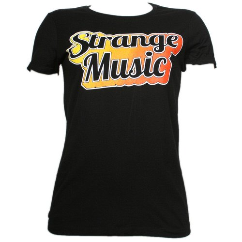 Strange Music - Black Shine Ladies T-Shirt