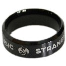 Strange Music - Black IP Ring