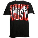 Strange Music - Black Inset S & B T-Shirt - Extra Large