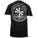 Strange Music - Black Network T-Shirt