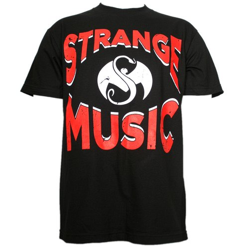 Strange Music - Black Since Forever T-Shirt
