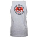 Strange Music - Heather Gray Banner Tank Top