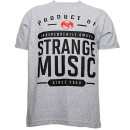 Strange Music - Heather Gray Product Of Strange T-Shirt - Extra Large