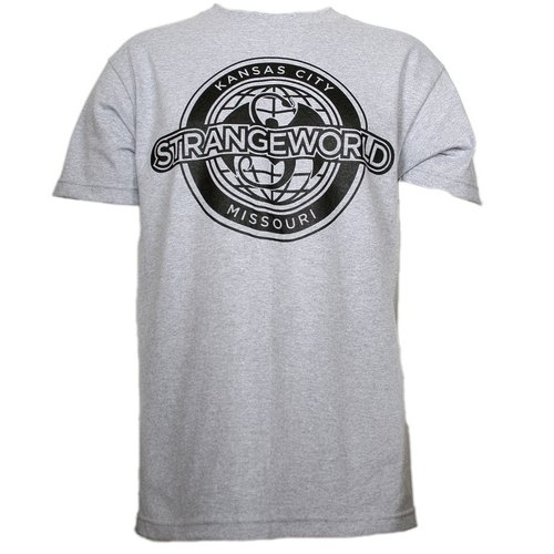Strange Music - Heather Gray Strangeworld T-Shirt