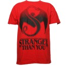 Strange Music - Red Stranger Than You T-Shirt - Extra Large