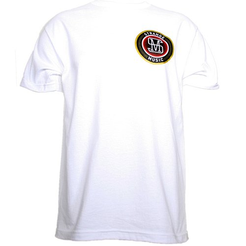 Strange Music - White Oval Label T-Shirt