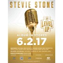 "Stevie Stone -  Level Up Poster 18"" x 24"""